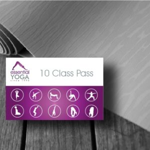 10 Class Pass Valid for 12 Weeks
