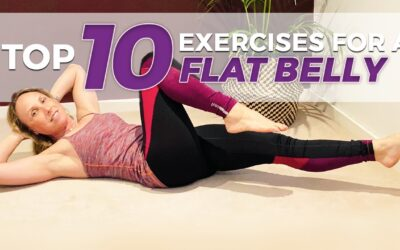 10 yoga poses for a flat stomach and lowered anxiety