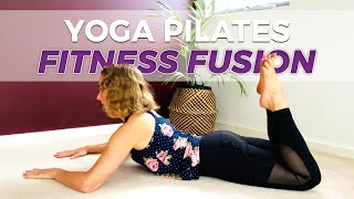 yoga pilates workout for experienced over 40s