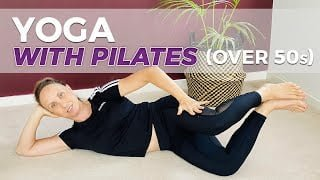 pilates yoga fusion beginners over 40