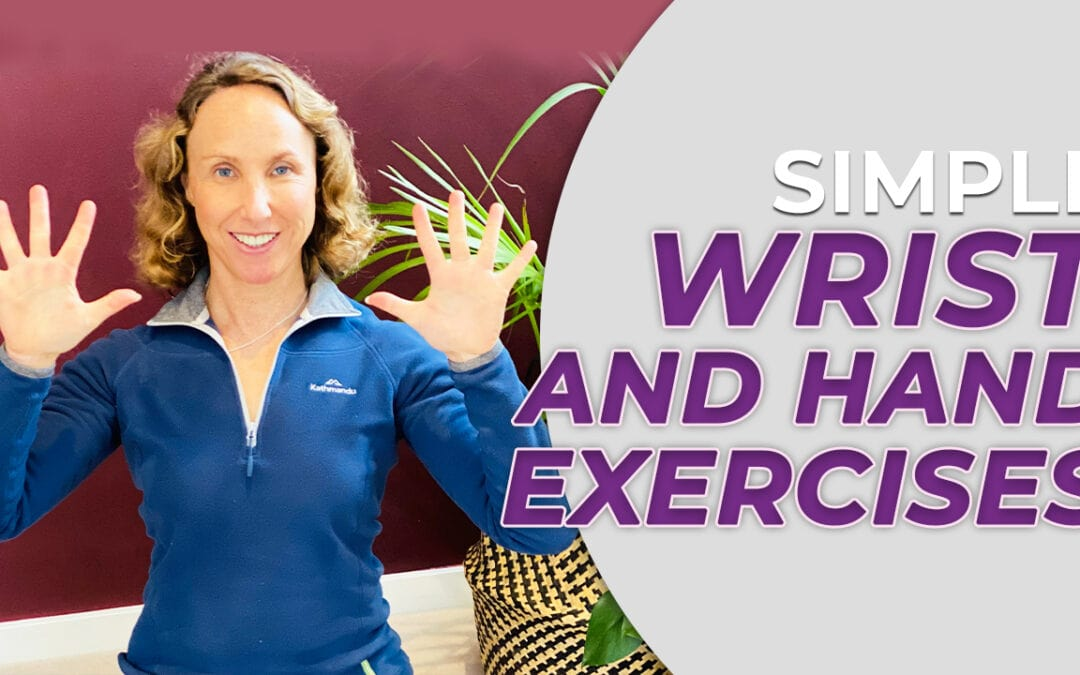 Easy wrist and hand yoga exercises for over 50s