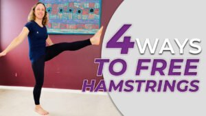 Easy Yoga for Tight Hamstrings over 40s